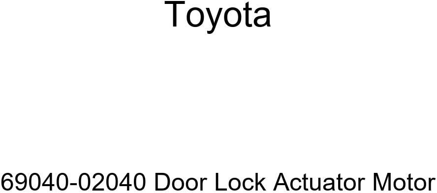 Genuine Toyota Lock Assembly 69040-0C020