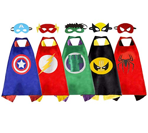 Kids Superhero Capes and Masks, Superhero Dress up