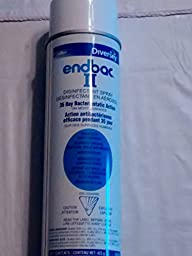 Endbac 11 Disinfectant Spray 35 Day Bacteriostatic Action- 425 Grams