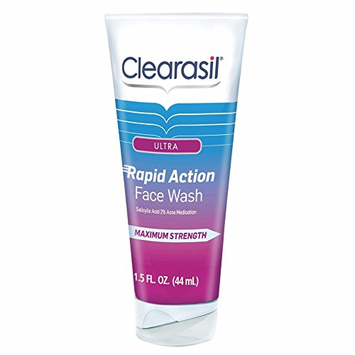 Clearasil Ultra Rapid Action Daily Face Wash, 1.5 oz. (Pack of ()