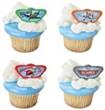 Disney's Planes Cupcake Rings - 24 ct