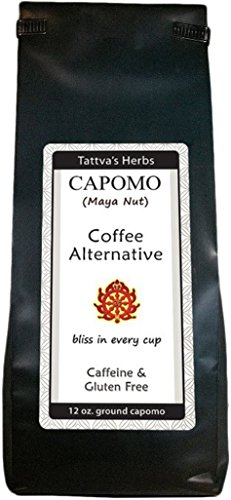 "Capomo (Maya Nut) Has Arrived - ""THE"" Coffee Alternative. Caffeine Free, Gluten Free and Delicious - 12 oz."