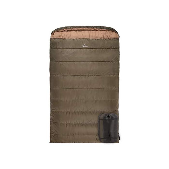 TETON Sports Mammoth Queen-Size Double Sleeping Bag