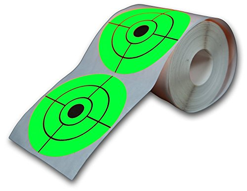 250-Target-Roll-Florescent-3-Inch-Adhesive-Shooting-Targets-Big-Dawg-Targets