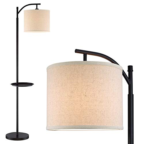 Floor Lamp With Table - Kira Home York 63