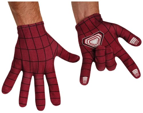 The Amazing Spider-Man Movie 2 Adult Gloves (The Amazing Spider Man 2 Costumes)