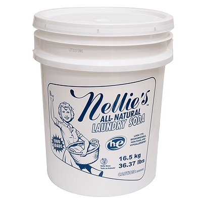 Nellie's All Natural Laundry Soda - 1100 Load Laundry Bucket by Nellie's All-Natural