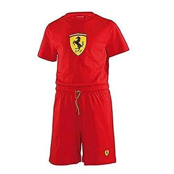 Ferrari Pijama niño rojo talla 2 años e560603d017