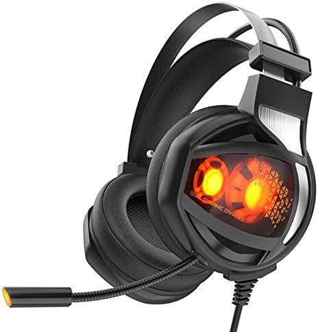V9 Game Deep Bass Game Headphone Stereo Over-Ear Gaming Headset Headband Noise Reduction Headset Earphone for Computer PC Gamer Blue-Ocean-11