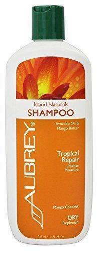 Aubrey Organics: Island Naturals Replenishing Shampoo, 11 oz