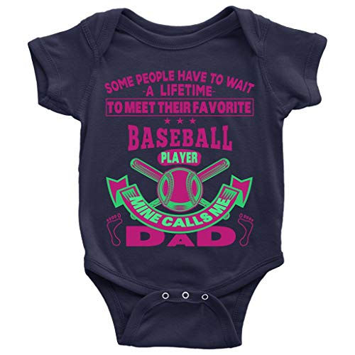 Baseball Player Baby Bodysuit, Playing Baseball Baby Bodysuit