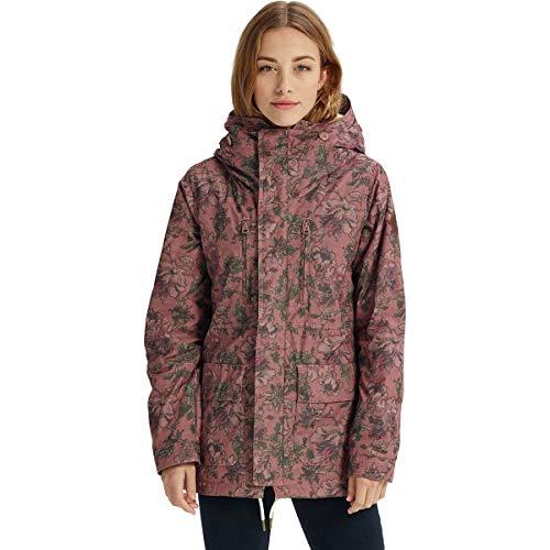 Burton Women's Albury Parka Jacket, Floral Camo, Small