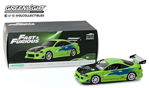 New DIECAST Toys CAR Greenlight 1:18 Artisan Collection - 1995 Mitsubishi Eclipse - Fast and Furious 19039