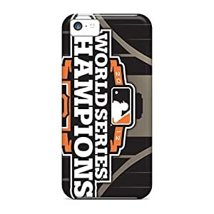 Durable Case For The Iphone 5c- Eco-friendly Retail Packaging(san Francisco Giants)