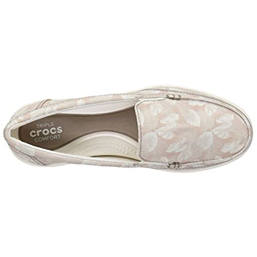 7eabed070ab Crocs Women s Walu II Canvas Graphic W Boat Shoe durable service ...