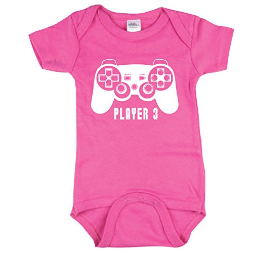 Funny Baby Bodysuit, Player 3 Bodysuit,