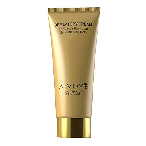 ONEMORES AFY New Women Men Permanent Hair Removal Cream For Leg Hair Arm Pit Depilatory (White)