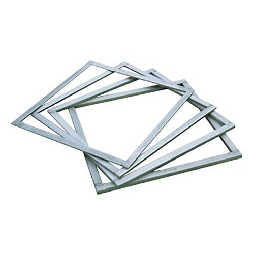 Square Ganache Frame Size: L 15 3/4'' x W 15 3/4'' x H 1/4'' (5 mm)