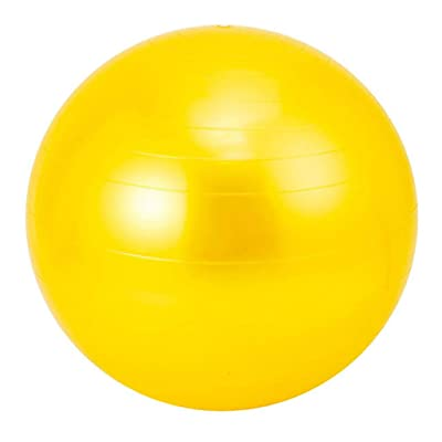 Nihewoo Yoga Ball Exercise Ball Pregnancy Birthing Anti Burst Core Ball Anti Burst and Slip Resistant Balls Gym Ball (Yellow): Clothing