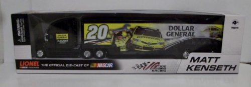 2013-matt-kenseth-20-dollar-general-husky-two-sided-hauler-trailer-transporter-semi-tractor-rig-truc