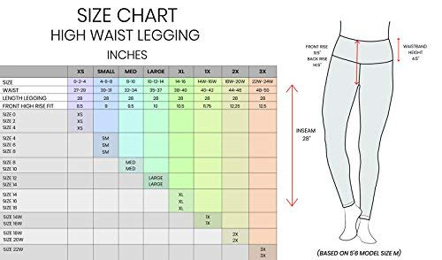90 Degree By Reflex - High Waist Power Flex Legging - Tummy Control - Black XS