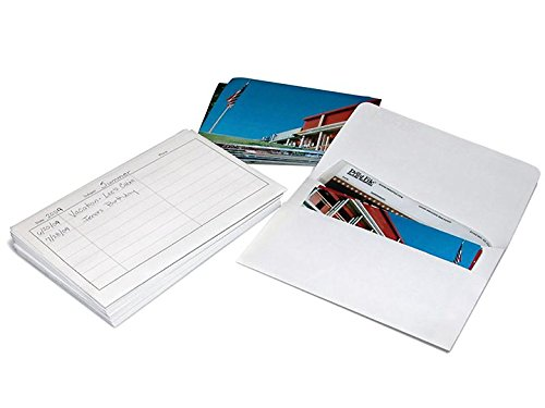 Print File Print Storage Envelopes, Each Envelope Holds 36 4x6 Prints, Pack of 25. by Print File