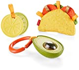 Taco 'bout a good time! Now your little foodie can join in the Taco Tuesday fun with this Fisher-Price gift set featuring three food-themed activity toys. A variety of textures make this toy taco super fun for your baby to teethe and explore. Plus, w...