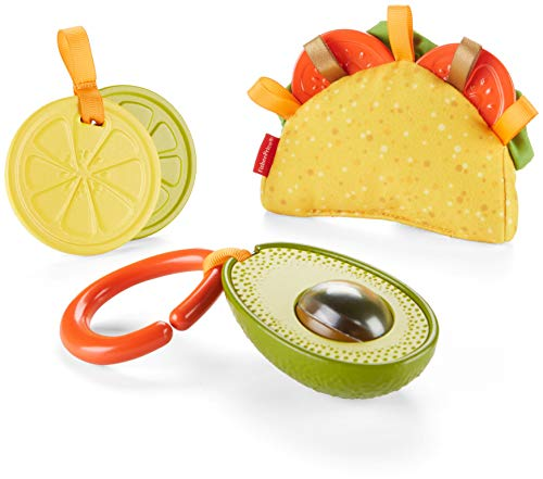 Fisher-Price Taco Tuesday Gift Set (Fisher Newborn Rattle Price)