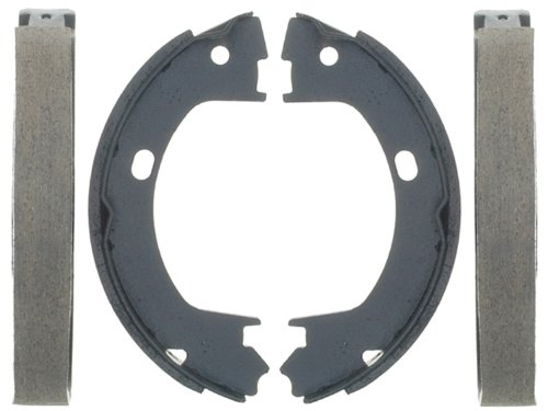 - ACDelco 17643B Professional Bonded Rear Drum In-Hat Parking Brake Shoe Set