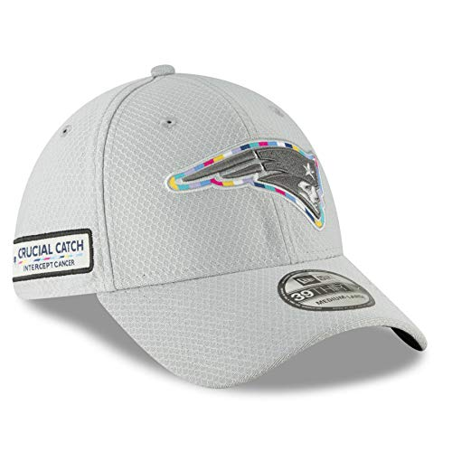 - New Era 39Thirty NFL New England Patriots Crucial Catch Stretch Fit Hat (M/L)