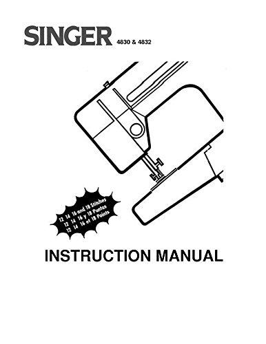singer 4830 - 4