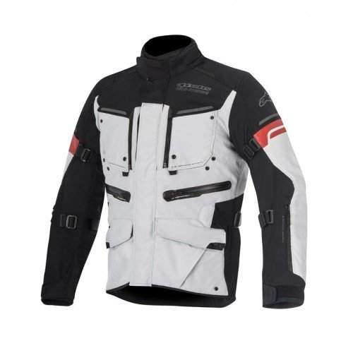 Alpinestars Mens Valparaiso 2 Drystar Jacket 2820-3849 Black//Anthracite, Medium