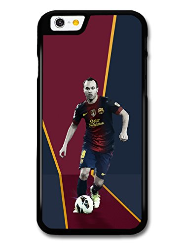Andres Iniesta Red Blue Football Player hülle für iPhone 6
