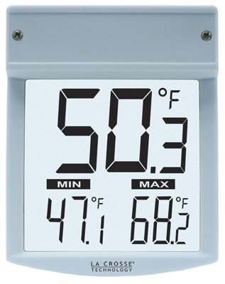 LaCrosse Technology WT62UTBP Outdoor Window Thermometer