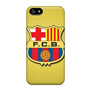MarieFrancePitre Iphone 5/5s Anti-Scratch Hard Cell-phone Cases Allow Personal Design Trendy Fc Barcelona Series [ZXN6822FhWn]