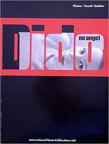 Amazon Dido No Angel Pianovocalchords 9781903692561