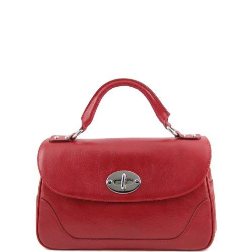Tuscany Leather  Ledertasche, Sac pour femme à porter à l'épaule Rouge Rouge