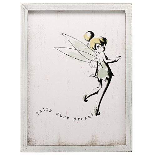 Open Road Brands Disney Framed MDF (Tinker - Fairies Pictures Tinkerbell