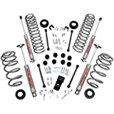 Rough Country - 642.20 - 3.25-inch Suspension Lift System w/ Premium N2.0 Shocks for Jeep: 97-02 Wrangler TJ 4WD