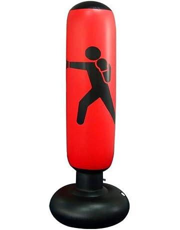 1ed7d3189 Hamkaw Saco de Boxeo Hinchable, Columna de Boxeo Inflable para Adulto y  Niños, Altura