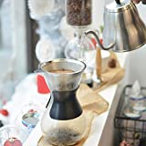 GROSCHE Austin G6 Pour over coffee maker, pour over coffee dripper with permanent stainless steel double layer coffee filter 34 fl oz 1000 ml