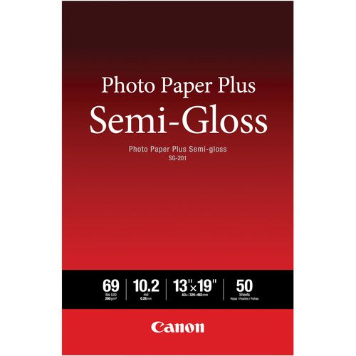 Canon SG-201 13X19(50)  Photo Paper Plus Semi-Gloss 13 x 19 (50 Sheets) (SG-201 13X19)