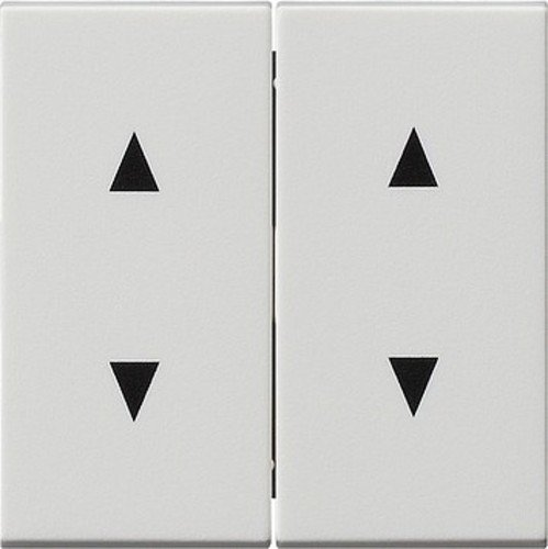 GIRA 115027 Wippen mit Pfeilsymbolen System 55 Reinwhite matt ()