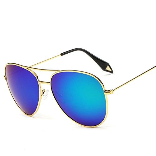 sol 6 personalidad de amp; Gafas Película protecciónn X9 Gran de de amp;Gafas 7 Espejo Gafas Lente Gafas Color polarizada Vintage Marco FwqX7RYqB