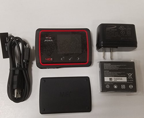 Verizon MiFi 6620L Jetpack 4G LTE Mobile Hotspot (Verizon Wireless) (Renewed)
