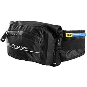 OverBoard Waterproof Waist Pack, Black, 3-Liter