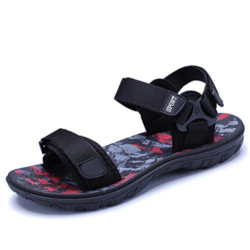 Mens B Regolabile Sandali HUAN da Sandali Scarpe da Spiaggia Estivi Uomo Comfort Casual 2018 Tocco Comfort UnaZwXYZxq