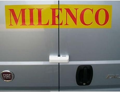 UNIVERSAL Milenco Rear Sliding Side Load Doors Van Security Locks Pair Twin Pack