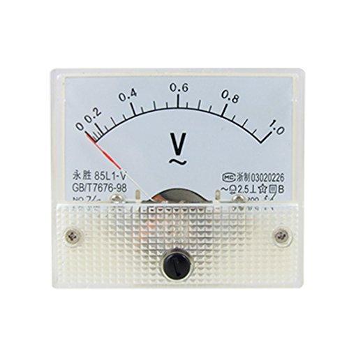 85L1 AC 1.0 V Rectangle Analog Panel Volt Meter Gauge: