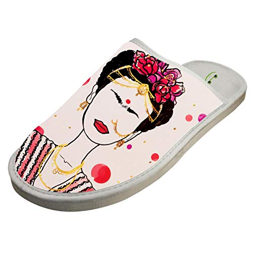 Pdgpadi Indoor Cotton Winter Slippers,Funny Modern for sale  Delivered anywhere in USA